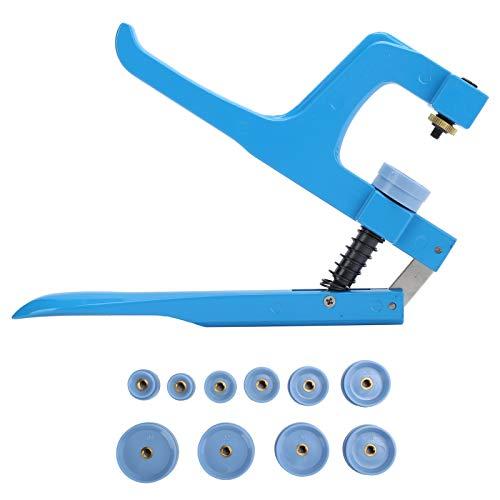Juego de herramientas de reparación de relojes, con 11 matrices y accesorios de reparación de relojes.