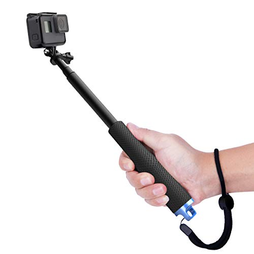 Luxebell Bastone Selfie Monopiede Telescopico Allungabile per GoPro Hero 5 Session 4 3+ 3 2 1 Sony Action Camera SJ7000/SJ6000/SJ5000/SJ4000/DBPOWER/Xiaomi Yi