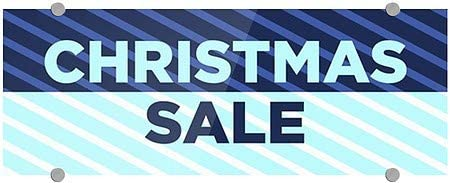 5-Pack CGSignLab Stripes Blue Premium Brushed Aluminum Sign 8x3 Christmas Sale