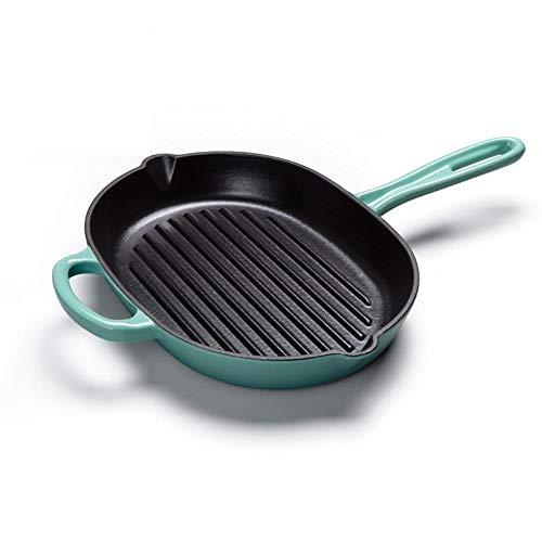 Potten, pannen, geëmailleerde ijzeren pan winkel dikke gietijzeren koekenpan koekenpan steak de families van Pan ongestreken Universal keukenmachines,B