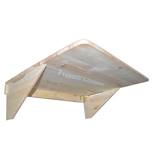 70 x 54,5 x 17,5 cm Esstisch Schreibtisch Tisch Klapptisch aus Holz Küchentisch klappbarer Unbehandelt Balkontisch Laptoptisch Kindermöbel Holztisch Wandklapptisch Wandtisch Balkon