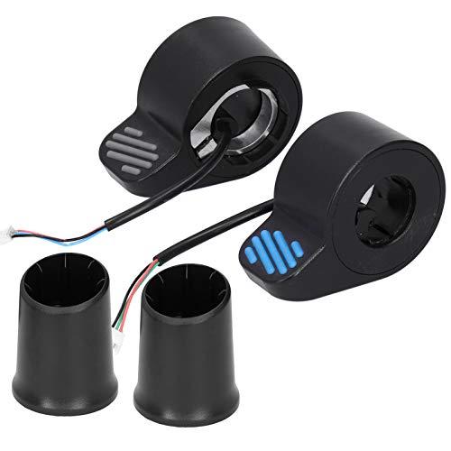 CHICIRIS Scooter eléctrico, Control Universal de Velocidad del Acelerador con el Pulgar, para XIAO - MI/Ninebot ES2, Acelerador del Acelerador con el Pulgar Izquierdo y Derecho