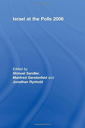Sandler, S: Israel at the Polls 2006