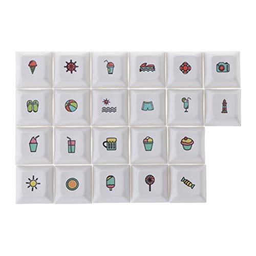 lifebea Tastenkappen Profil Persönlichkeitstastatur Keycap-Farbstoff-Sublimationsschlüssel-Kappe-Hut für PC-Computer-Notebook-Verwendung von Lieferungen gmk (Color :...
