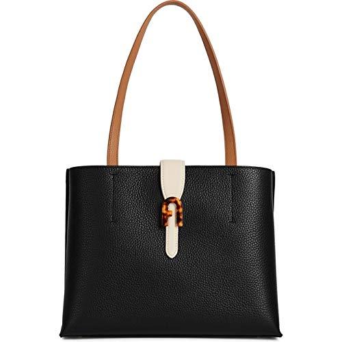 FURLA Shopping Sofia Negro + Pergamino (BATTPRS-HSC000-0255S-9-008)