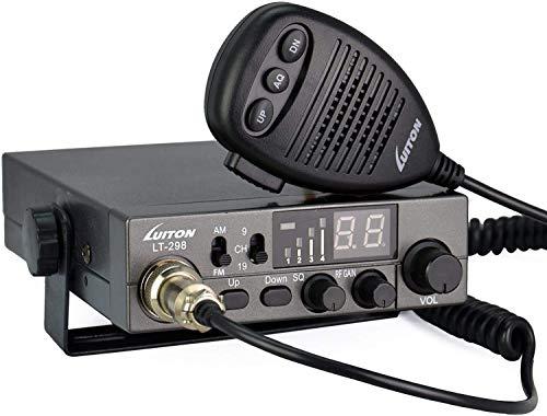CB Radio Empfänger/ CB Funk Transceiver / CB-Funkgerät LT-298 CB Radio für Europa, 4W mit einstellbaren ASQ, AM/FM-Multinormes ,Tastensperre
