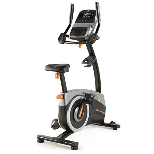 NordicTrack GX 4.4 Pro Upright Bike with 5in Display | 25 Resistance Levels and Seat Adjustment