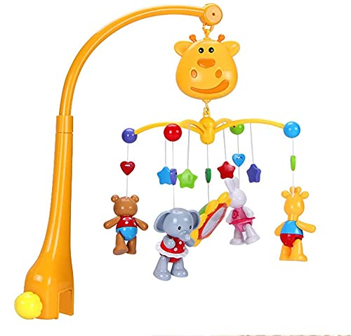 Mobiles Superlatite Baby OFFicial Musical Cot Mobile Bell T Bed Newborn Rotating