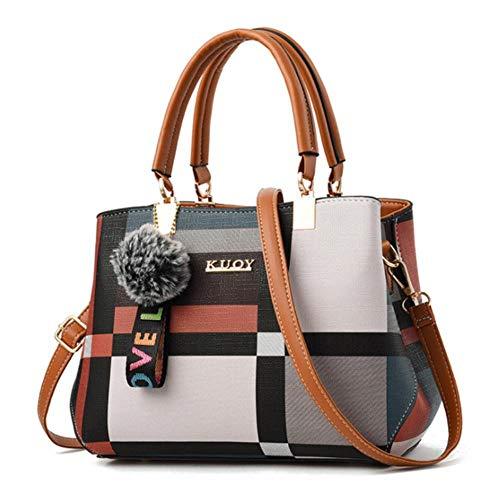 SYART 2020 nieuwe handtas vrouwen naaien Wilde schoudertassen designer merk plaid schouder schoudertassen tas Vrouwen Totes