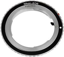 Fotodiox Lens Mount Adapter - Nikon Nikkor F Mount D/SLR Lens to Canon EOS (EF, EF-S) Mount SLR Camera Body