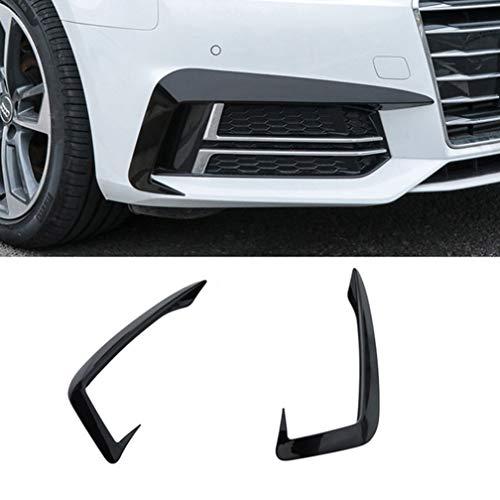 ABS Car Front Stoßstangenflossen Karosserie Spoiler Canard Lip Splitter Für Audi A4 B9 2017 2018 2019