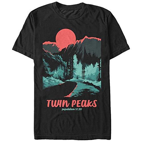 Twin Peaks Population Mens Graphic …