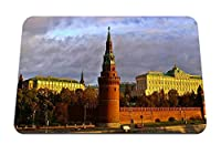 22cmx18cm マウスパッド (ロシアモスクワクレムリン川石首都) パターンカスタムの マウスパッド