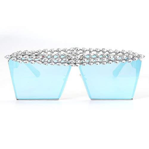 Astemdhj Gafas de Sol Sunglasses Gafas De Sol Cuadradas De Lujo con...
