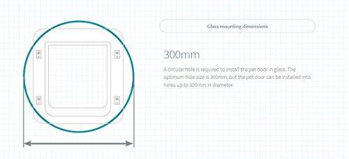 SureFlap Mikrochip Haustierklappe mit Zeitschaltuhr - 10