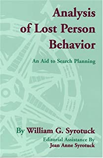 Analysis of Lost Person Behavior