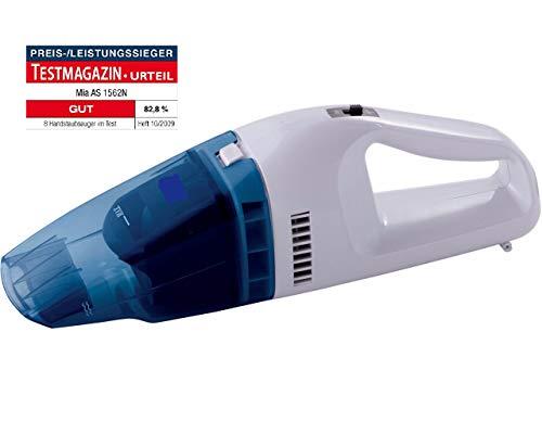 CleanIX Handstaubsauger Akkustaubsauger beutellos, Handsauger Nass / Trocken Funktion, Kabelloser Autosauger 6V, 25W Motor
