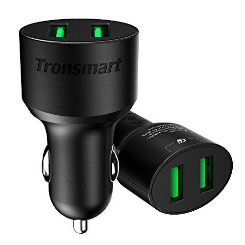 Qualcomm認証済 36W USBカーチャージャー Quick Charge 3.0 超急速充電対応 USB充電器 車載充...
