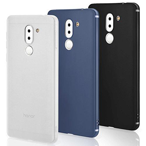 Funda Huawei Honor 6x [3 PCS], Leathlux 3X Carcasa [Ultra Delgado ...