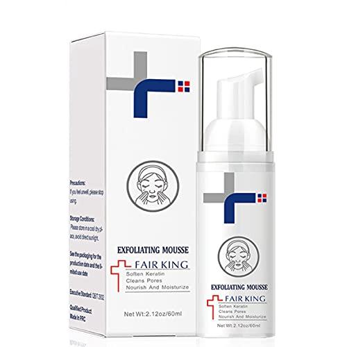 Libartly Gel Exfoliante De Espuma Exfoliante Facial 60Ml Exfoliante Facial Limpieza Profunda Crema Exfoliante Hidratante Suave para La Piel - Colorido