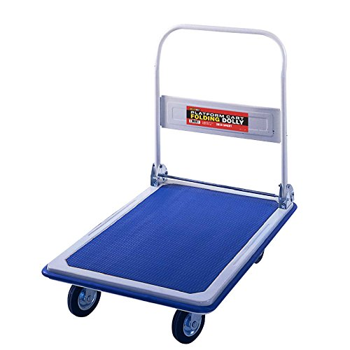 Folding Platform Cart from Shoulder Dolly – Push Moving Dolly...