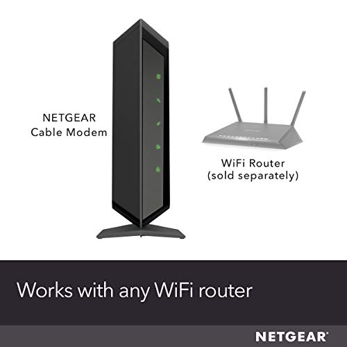 NETGEAR Cable Modem CM700 - Compatible with All Cable Providers Including Xfinity by Comcast,...