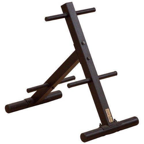 Body-Solid Scheibenständer / Hantelscheibenständer / Hantelscheibenablage / Gewichtsablage SWT-14