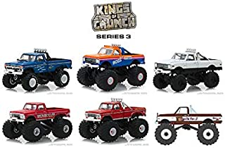 New DIECAST Toys CAR Greenlight 1:64 Kings of Crunch Series 3-6 Styles Set of 6 49030