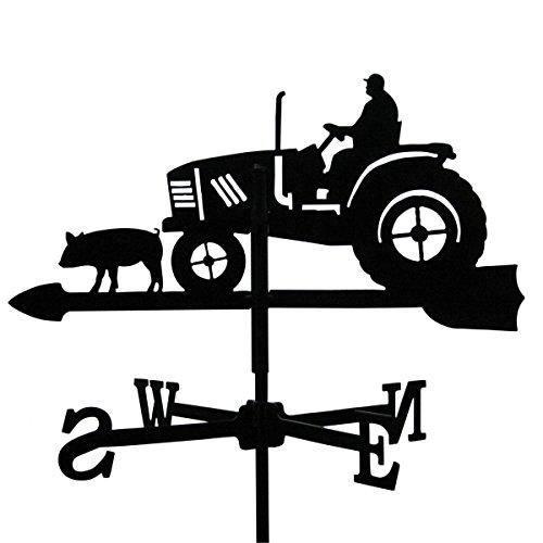 SvenskaV Wetterfahne Traktor - 46 x 64 cm