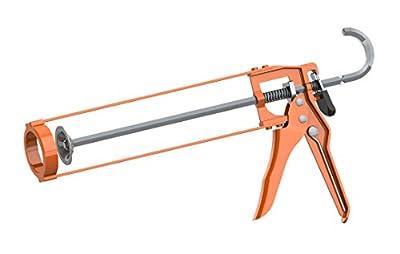 Albion Engineering B1 B-Line Manual Skeleton Cartridge Caulking Gun, No Drip, 1/10 Gallon (10oz), 7:1 Drive by Albion Engineering Company