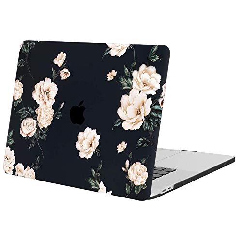 MOSISO Funda Dura Compatible con 2020 2019 MacBook Pro 16 Pulgadas A2141 con Touch Bar & Touch ID, Carcasa Rígida de Camelia...