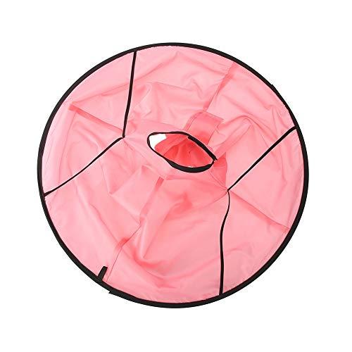 Mantel voor kinderhaar, haaruitsnijding capper, de waterdichte mantel kan worden gebruikt voor salon of hoofdgebruik. roze