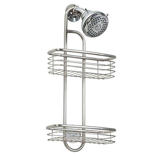 InterDesign シャワーラック 風呂 バスルーム Forma マット ステンレス 27030EJ