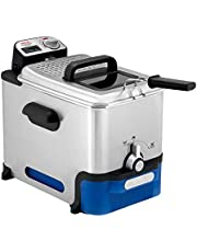 Tefal Oleoclean Pro Inox & Design FR8040 friteuse - Automatische oliefiltering - Regelbare temperatuur