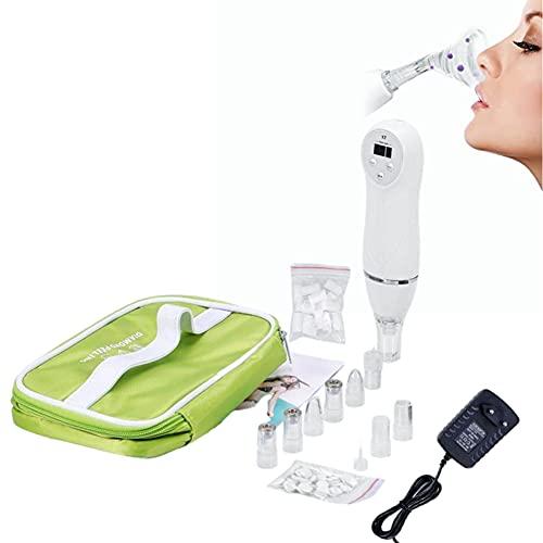 Limpiador de acné de espinillas, mini máquina portátil de dermoabrasión de espinillas de diamante, elimina el aceite, reduce los puntos negros, suaviza la piel