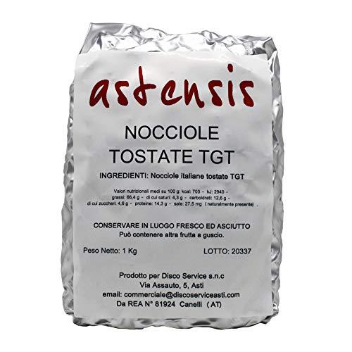 ASTENSIS Nocciole Tostate TGT - Nocciola Piemonte Tonda Gentile Trilobata - Sgusciate, Tostate, Intere - Per Snack - Preparazioni Gastronomiche - Per Dolci e Pasticceria