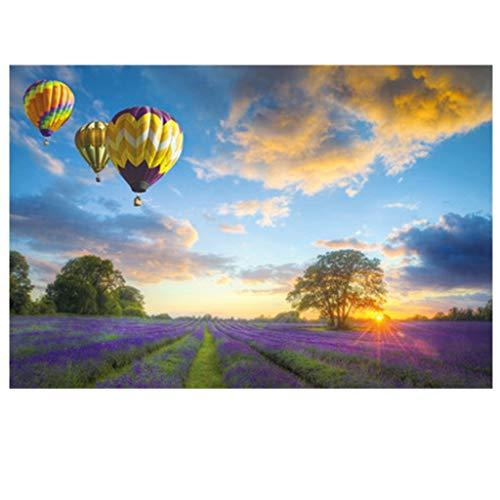 Puzzel 1000 Stuks Stelt hete lucht ballonnen vliegen in de lucht Moeilijk Gifts Brain Challenge Educatief speelgoed intellectuele Games Jongens Meisjes Verjaardag