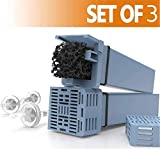 Filtre à Cartouche, Remplacement générique du Filtre Cpap pour Soclean, Comprend 3 filtres à Cartouche + 3 clapets Anti-Retour