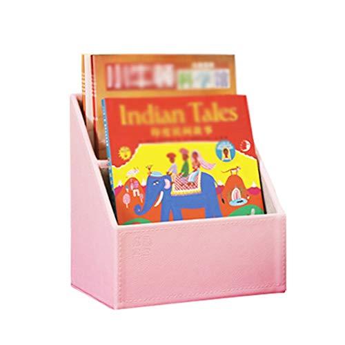 Librerías Multifuncional Mini Estantería de libros, conveniente for la mesa de almacenamiento Caja de almacenamiento de la estantería de los niños, se puede colocar juguete de decoración de interior D