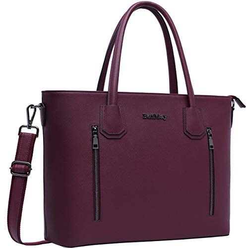 Laptop Bag for Women,15-15.6 Inch Laptop Tote Bag Briefcase Tablet Bag Work Office Bag with Sturdy Top-Handles for Business/School/Travel