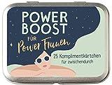 Power Boost für Powerfrauen: 25 Komplimentkärtchen für Zwischendurch