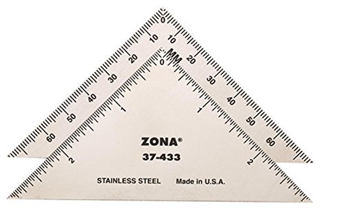 Zona 37-433 Triangle, Stainless Steel, 3-Inch by Zona