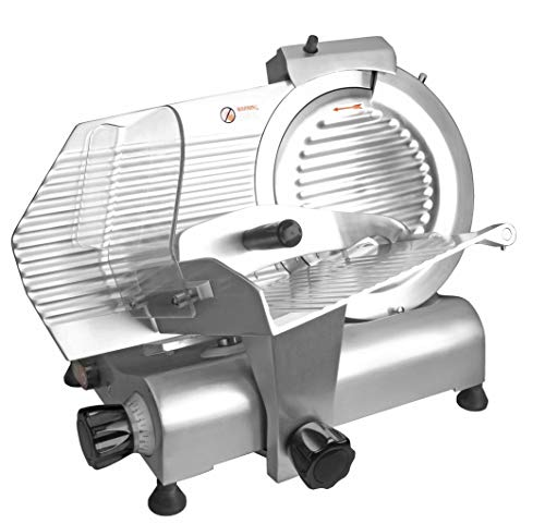 Lacor - 69130 - Cortadora eléctrica Fiambre 250w - Gris