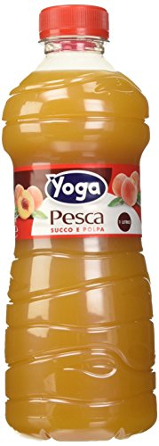 Yoga - Pesca, Succo e Polpa - 1000 ml [confezione da 6]