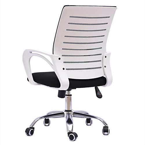 JZWX roterende tillen witte pp Shell Executive bureaustoel onderdelen Ergonomie uitvoeren roterende bureaustoel