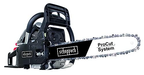 Tronçonneuse à essence scheppach CSH46 - 2,45CV, lame de pliage de 46cm