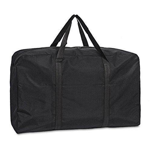 Holiberty 180L Oversized Waterproof Storage Bag Foldable Travel Duffel Cargo Jumbo Bag Comforter Quilt Bedspread Pillow Luggage Moving Tote Garment Closet Storage Organizer Space Saving Laundry Bag