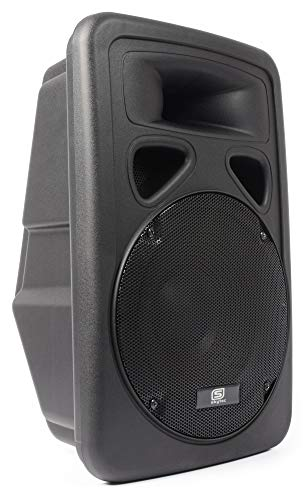mächtig der welt Skytec Active Monitor 600 Watt DJPA-Box, robustes ABS-Lautsprechergehäuse und 30 cm…