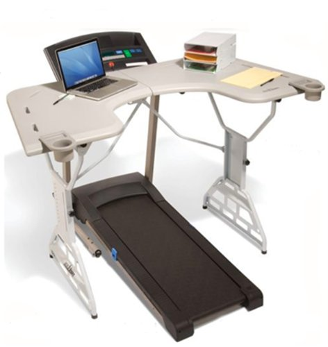 TrekDesk Treadmill Desk - Walking and Standing Desk Treadmill - Perfect Workstation Treadmill.