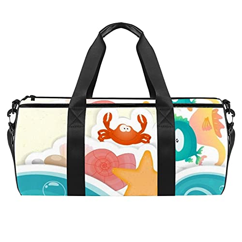 Leichte Canvas-Reisetaschen Für Männer Und Frauen Sü?E Stereoanlage Für Reisen, Das Fitnessstudio Und Als Sportgerätetasche Tanztasche 45x23x23cm